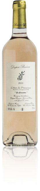 Bouteille Dupere-Barrera Côte de provence rosé