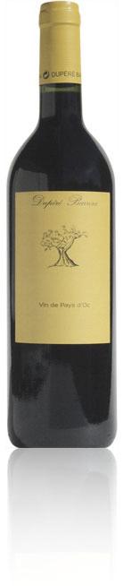 Bouteille Dupéré-Barrera vin du pays d'Oc