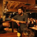 Patron du Grinder restaurant