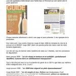 Article sur le guide des vins de provence