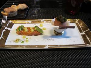 ouef et caviar