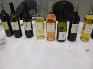 gamme de vin