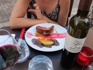 plat et vin bergerac