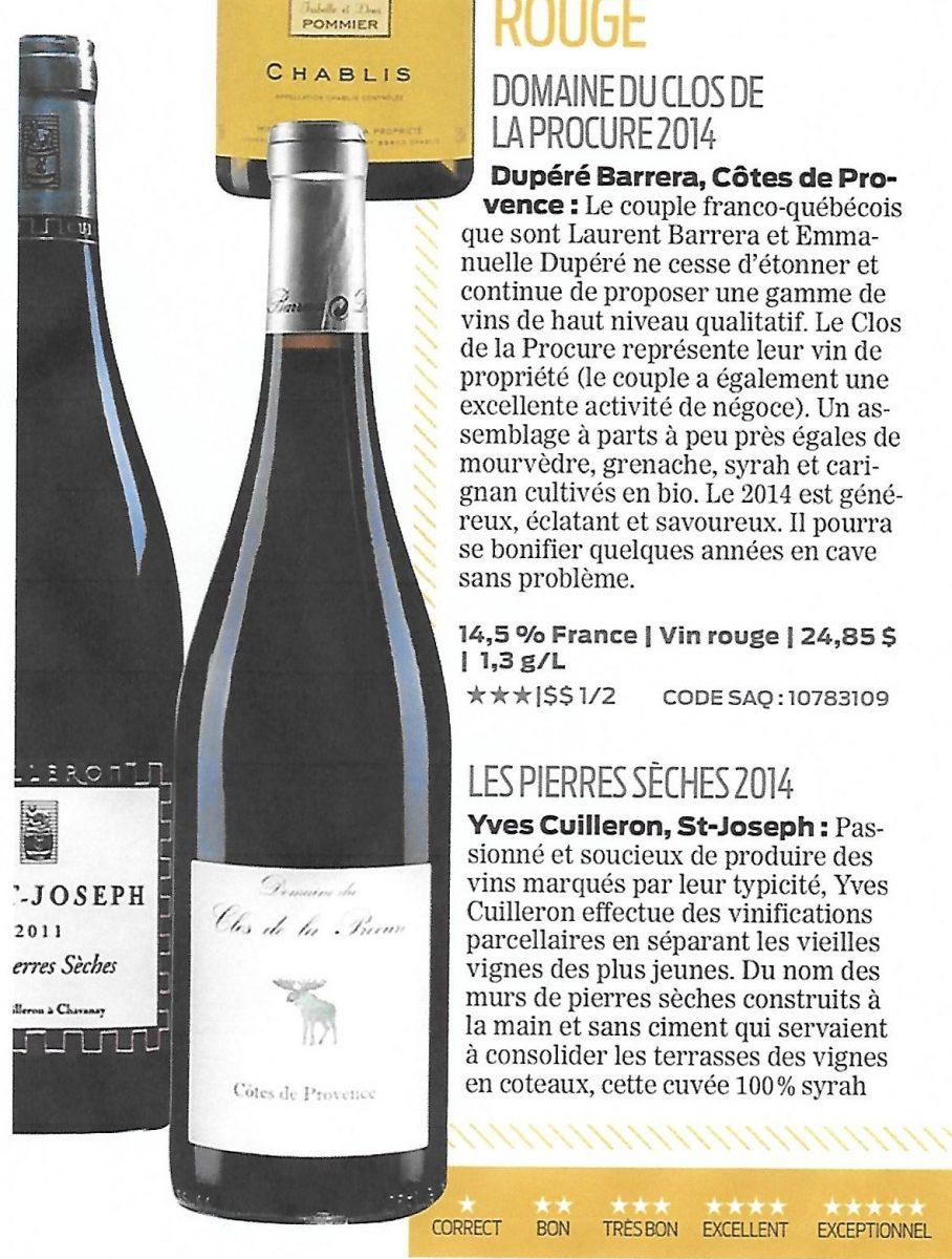 article vins
